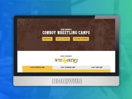 Cowboy Wrestling Camps